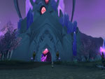 Krys at the entrance to Exodar