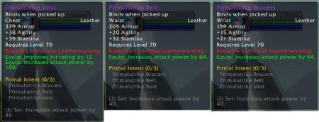 Primalstrike Armor Set Upgrade