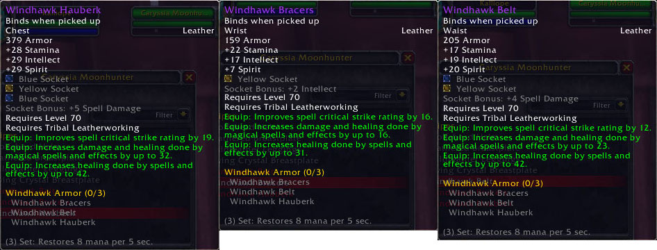 Windhawk Tribal LW Updates
