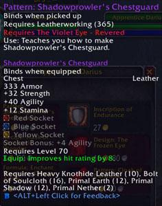 Shadowprowler's Chestguard
