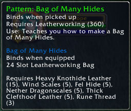 Bag of Many Hides 2.3 Patch