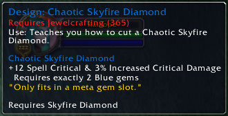 Chaotic Skyfire Diamond