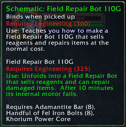 Field Repair Bot 110A