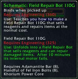 Field Repair Bot 110A