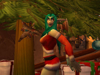 Happy Dance for Winter Veil