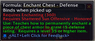 2.4 Patch Enchant Chest - Defense