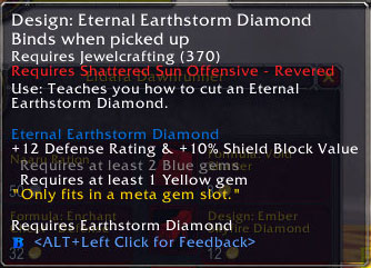 2.4 Patch Eternal Earthstorm Diamond
