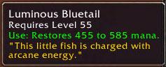 Luminous Bluetail