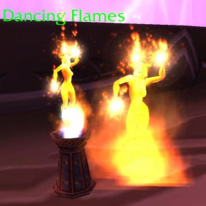 Brazier of Dancing Flames