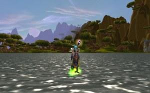Kali Walking on Water