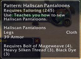 Haliscan Pantaloons