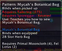 Mycah\'s Botanical Bag, 28 Slot Herb Bag