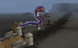 Giant Worm Pet