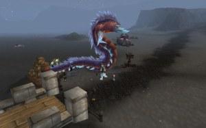 Giant Worm Pet