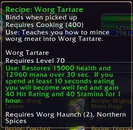 Worg Tartare