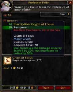 Glyph of Focus