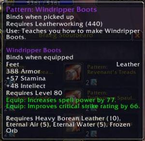 Windripper Boots