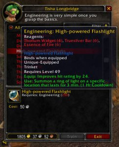 3.1 PTR Recipe for Engineers -> High Powered Flashlight