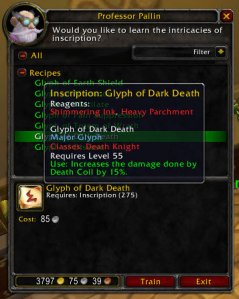 3.1 PTR Glyph of Dark Death