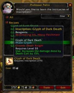 3.1 PTR Glyph of Dark Death