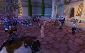 Noblegarden Dance Party in Dalaran